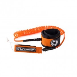 Unifiber Sup Coil Leash 8 ft