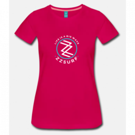 T-SHIRT FUCSIA WOMAN - ZZSURF