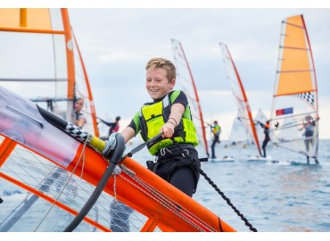 Windsurf per bambini: l'attrezzatura per i più piccoli